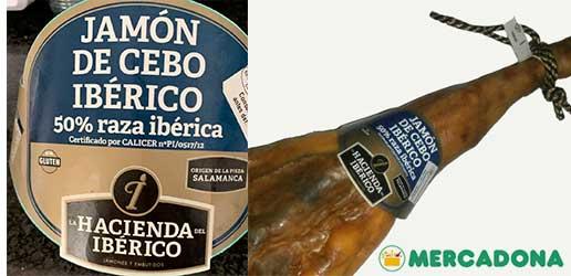 jamon iberico mercadona